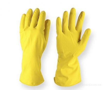 Перчатки резиновые, латексные