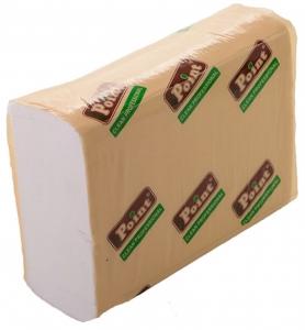 Бумажные полотенца листовые, белые, Z-укладка, 2 слоя,  ZS-200