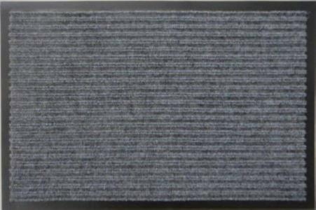 Грязезащитный коврик Дабл Стрипт  90*120 коричневый