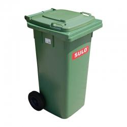 Бак для мусора пластиковый Sulo, зеленый, 120 литров