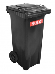 Бак для мусора пластиковый Sulo, темно-серый, 120 литров