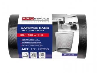 PRO Пакеты для мусора 35 л (черные) 100 шт.