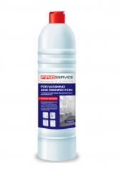 PRO service универсальное средство для мытья и дезинфекции, морская свежесть, 1 л