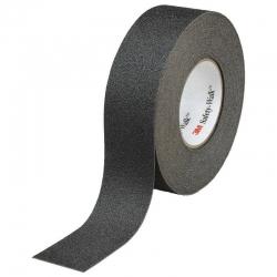 Противоскользящая лента 3M Safety-Walk 610 универсальная черная средняя зернистость 25 мм