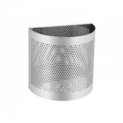 Урна из нержавеющей стали,навесная,0630
