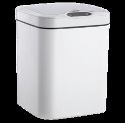 Сенсорное мусорное ведро JAH 15л квадратное белое