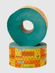Туалетная бумага рулонная макулатура ДжамбоК BК-102 (зеленая)