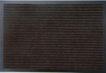 Грязезащитный коврик Дабл Стрипт 120*150 шоколад