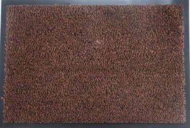 Полипропиленовый грязезащитный коврик 60*90 коричневый серии Ламбет