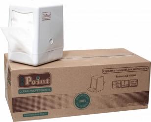 Серветки Mirus Eco Point для настільного диспенсера одношарові