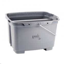 Lavex 19.5 Qt. Gray Plastic Bucket