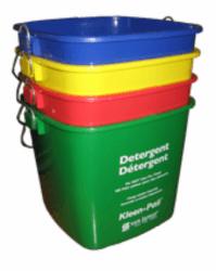 Ведро пластиковое 6 л для уборки различных поверхностей
