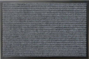 Грязезащитный коврик Дабл Стрипт 40*60 серый