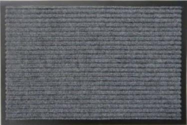 Грязезащитный коврик Дабл Стрипт  90*120 серый
