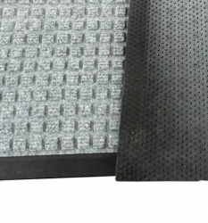 Грязезащитный коврик Ватер-Холд (Water-hold) 60*90 серый